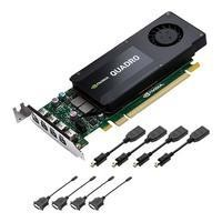 PNY NVIDIA QUADRO K1200 4GB PCI-E X16 4*Mini DP DOESN T COME WITH FULL HEIGHT BRACKET PROFESSIONAL Graphics Card