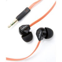 Veho 360 Earphones with flex 'anti' tangle cord system - Orange