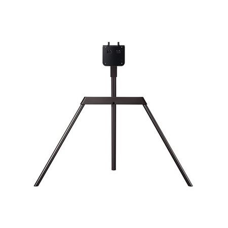 "GRADE A1 - Samsung VG-STSM11B Brown Studio Easel Stand for up to 65"" QLED TVs"
