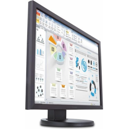 Viewsonic 234 inch 16_10 Flicker Free PLS LED Monitor with VGA DVI Speakers and Full Ergonomic Stand