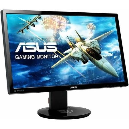 "GRADE A1 - As new but box opened - ASUS VG248QE 24"" Widescreen LED Black Multimedia Monitor 1920x1080 1ms HDMI DP DVI 3D"