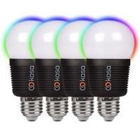 Veho Kasa Bluetooth Smart Lighting LED Screw Cap E27 Bulb Quad Pack