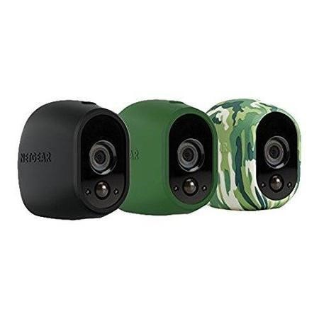 VMA1200-10000S Netgear Arlo Case for Camera - Black/Green/Camouflage/UV Resistant/Water Resistant - Silicone