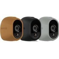 Netgear Arlo Wire-Free Camera Skin Pack in Grey Black & Brown