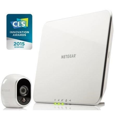 VMS3130-100EUS Netgear Arlo Smart Home System 1 x HD 720p Camera Wire-Free Indoor/Outdoor with Night Vision