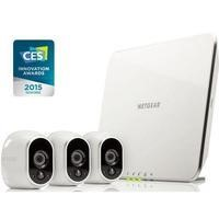 Netgear Arlo VMS3330 Smart Home System  3x HD Camera Wire-Free Indoor/Outdoor with Night Vision