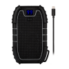 Veho Pebble Endurance Pro Rugged 15000mAh Power bank - Black with MFi Cable