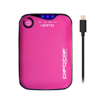 Veho Verto Pro 3700mAh MFi Power Bank - Pink