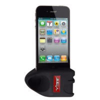 VIBE Slick-Rok Passive Amplifier Dock for iPhone 5 - Black