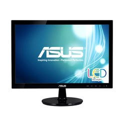 "Asus VS197DE 18.5"" Widescreen Led Black Monitor 1366 X 768/5ms/vga"