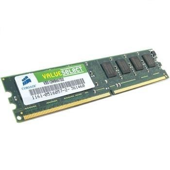 Corsair Value Select memory - 1 GB - DIMM 240-pin - DDR2