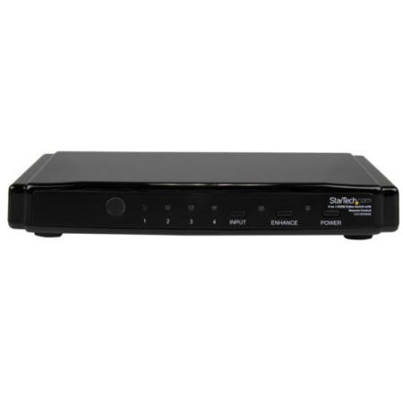 StarTech.com 4-to-1 HDMI® Video Switch with Remote Control