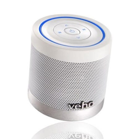 Veho Portable 360 Bluetooth Speaker in White