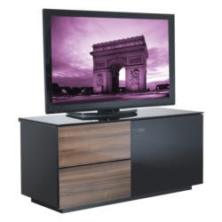 UKCF Paris Gloss Walnut TV Cabinet - Up to 42 Inch