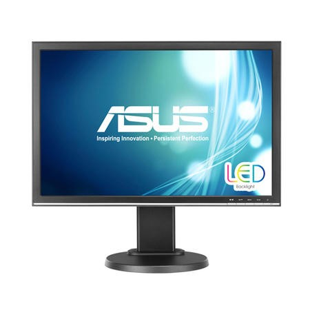 "ASUS VW22ATL 22"" LCD Black Multimedia Monitor 1680x1050 5ms VGA DVI"