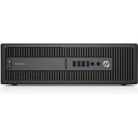 Refurbished HP EliteDesk 800 Core i7-6700 8GB 256GB Windows 10 Professional Desktop