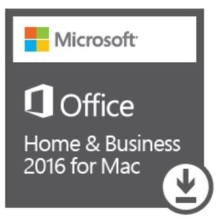 Microsoft Office Home & Business 2016 for Mac Electronic Download