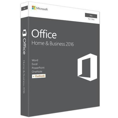 Microsoft Office Home & Business 2016 - for Mac