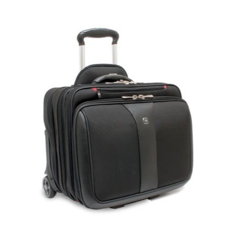 "Wenger Swissgear Patriot Roller 2 Piece Travel Set for Laptops up to 17"" - Black"