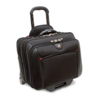 "Wenger Swissgear Potomac Roller 2 Piece Travel Set for Laptops up to 17"" - Black"
