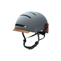 Livall BH51T Urban Bluetooth Enabled Smart Helmet - Sandstone Grey