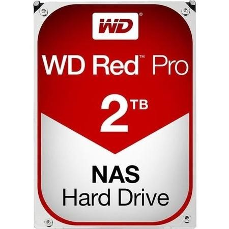 "WD Red Pro 2TB NAS 3.5"" Hard Drive"