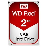 "Western Digital Red 2TB SATA III 3.5"" NAS Internal Hard Drive"
