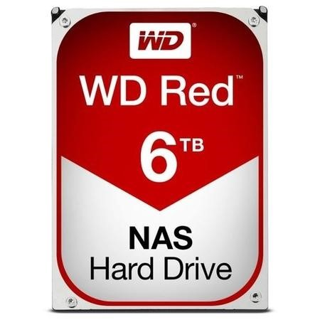 "WD Red 6TB NAS 3.5"" Hard Drive"