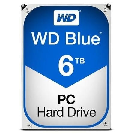 "WD Blue 6TB Desktop 3.5"" Hard Drive"