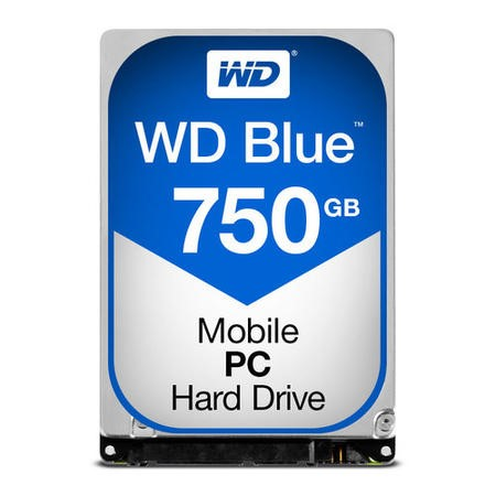 WD Blue 750GB Laptop Hard Drive