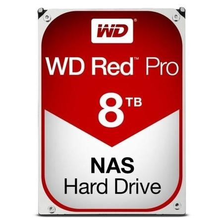 "WD Red Pro 8TB NAS 3.5"" Hard Drive"