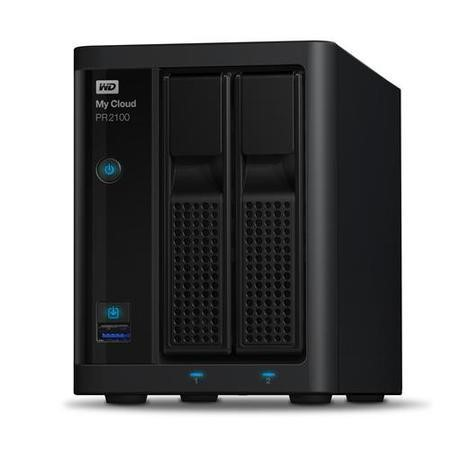 Western Digital My Cloud PR2100 Diskless 2 Bay NAS