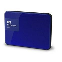 Western Digital My Passport Ultra 2TB Portable USB 3.0 External HDD Blue