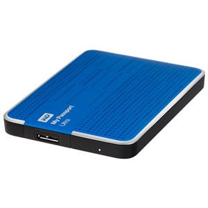 Western Digital My Passport Ultra 1TB Portable USB 3.0 External HDD Blue