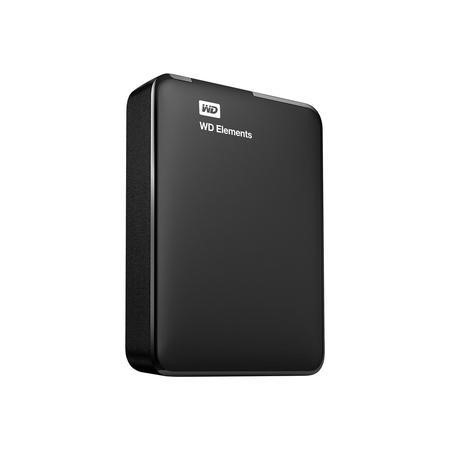 Western Digital WD Elements Portable WDBU6Y0020BBK - Hard drive - 2 TB - external portable - USB 3.0