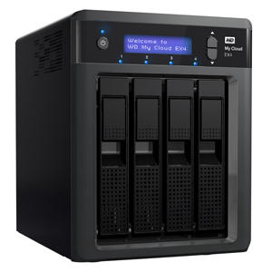 My Cloud EX4 Professional Cloud Storage NAS with WD Red 12TB