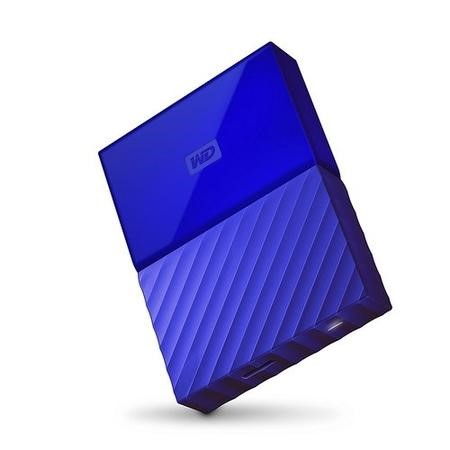 "Western Digital My Passport 2TB 2.5"" Portable Drive in Blue"