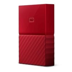 Western Digital My Passport 2TB USB3.0 Portable Drive in Red