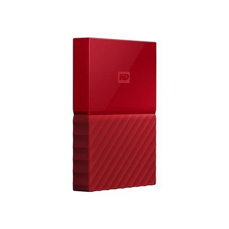"Western Digital My Passport 1TB 2.5"" Portable Hard Drive in Red"