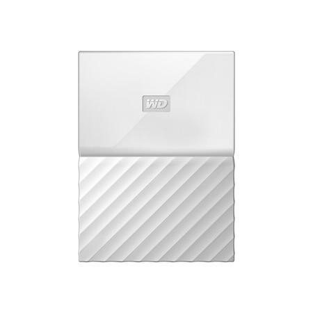 "Western Digital My Passport 1TB 2.5"" Portable Hard Drive in White"