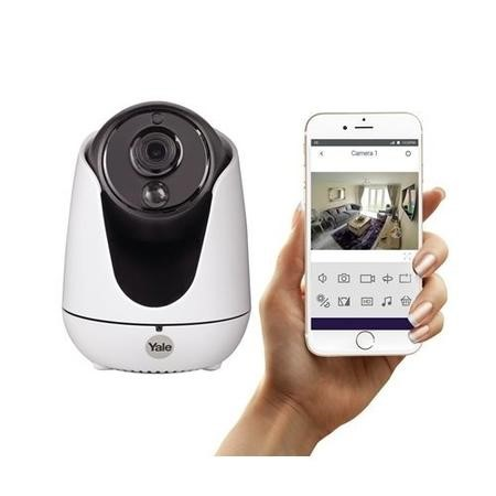 GRADE A1 - Yale Indoor Wireless Camera - HD 720p PTZ Camera with 8m Night Vision & 2-way audio