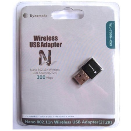DYNAMODE 300Mb 11n NANO USB 2.0 Wireless Dongle / Adapter 2T2R Realtek