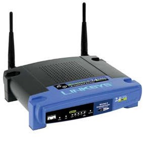 Linksys Wireless Access Point Router w/ 4-Port Switch 802.11g and Linux