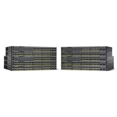 Cisco Catalyst 2960X-48LPS-L Managed POE+ Switch