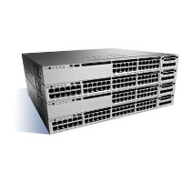 Cisco Catalyst 3850-24T-E - Switch - L3 - Managed - 24 x 10/100/1000 - desktop rack-mountable