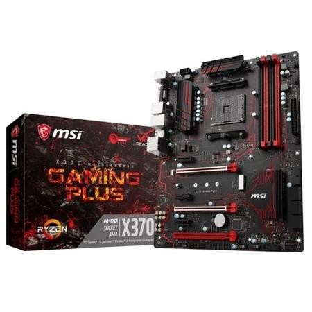X370 GAMING PLUS MSI AMD X370 Gaming Plus DDR4 AM4 ATX Motherboard