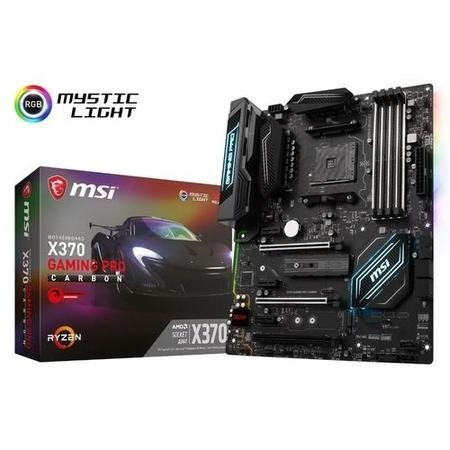 X370 GAMING PRO CARBON MSI X370 Gaming Pro Carbon AMD Socket AM4 ATX Motherboard