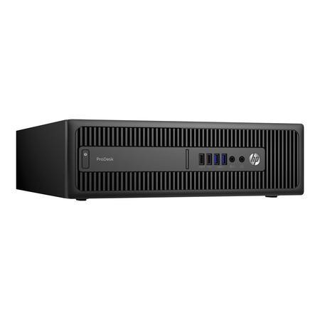 X3J43ET HP ProDesk 600 G2 Core i5-6500 4GB 500GB DVD-RW Windows 10 Professional Desktop