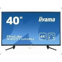 "Iiyama 40"" Black Full HD LED 4K 3840 x 2160 2 x 6W VGA HDMI Monitor"