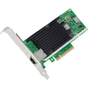 Intel Ethernet Converged Network Adapter X540-T1 - Network adapter - PCI Express 2.1 x8 low profile - 10 Gigabit LAN - 10GBase-T
